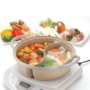 アメトーク!で紹介された2つの鍋物が同時に作れる仕切り鍋