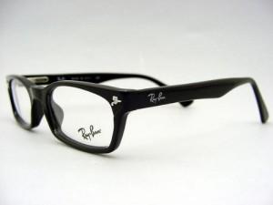 ドラゴンアッシュ降谷建志氏使用モデル★レイバンRX5017A-2000★Ray-ban レンズ付き 伊達眼鏡セット