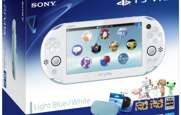 PlayStation Vita Value Pack ライトブルーホワイト1