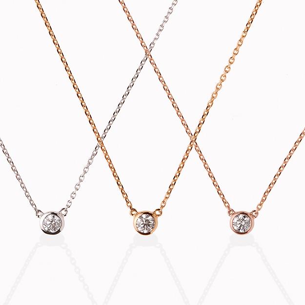 orefice K18ゴールド×ダイヤモンド「ヌード」ペンダント