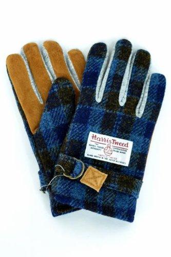 Gymmasuter(ジムマスター) HarrisTweed×gymmasuteコラボレーション ダブルネーム 手袋