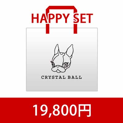 CRYSTAL BALL 2014 HAPPY SET1