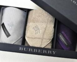 (バーバリー) BURBERRY メンズ ハンカチ 3枚