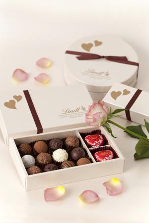 リンツのバレンタイン限定ギフトは高級感のある本格的なチョコレート!