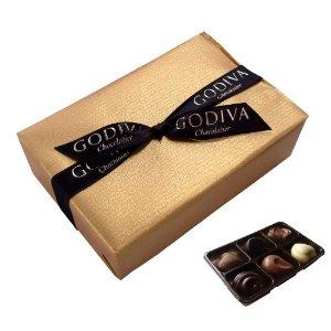 ゴディバのバレンタインチョコレート