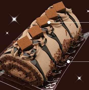 菜果亭の生チョコロール